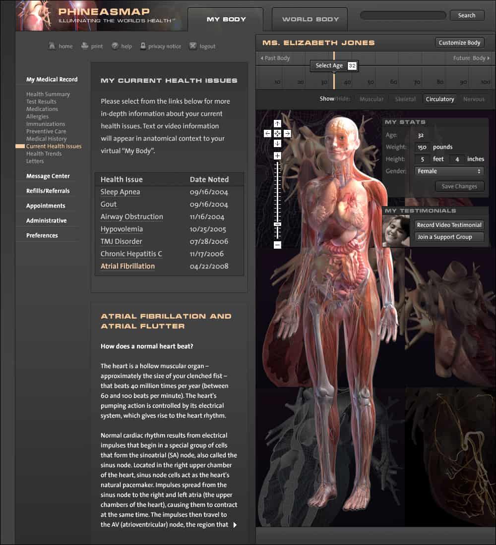 Phineasmap Web Portal – Virgil Wong