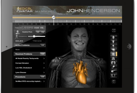 Medical Avatar iPad App