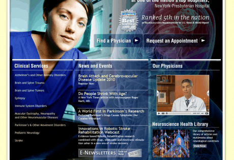 NYP Neuroscience Home Page