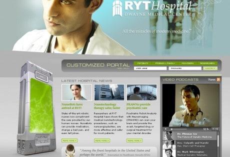 RYT Hospital Home Page